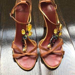 Giuseppe Zanotti crystal heels Sz 38